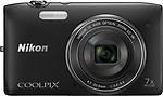 Nikon Coolpix S3500 4.7 - 32.9mm Point & Shoot Camera