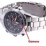 AGPtek Imported from Koria Spy Wrist Watch Camera Hidden Video/Audio Recording, 4GB Memory