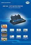 TVS MSP 355 Printer