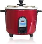 Panasonic SR-WA10(Z9) Electric Rice Cooker(2.7 L, Burgandy)