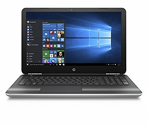 HP Pavilion 15-AU620TX Notebook (7th Gen Intel Core i5- 8GB RAM- 1TB HDD- 39.62cm(15.6)- Windows 10 with MS Office- 2GB Graphics) (Silver) price in India.