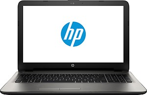 HP 15-AF006AX Laptop (AMD A8- 4GB RAM- 500GB HDD- 39.6 cm (15.6)- 2GB Graphics- DOS) (Silver) price in India.
