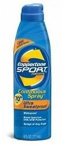 Coppertone Coppertone Sport Spf 70 Plus Continuous Spray Sunscreen