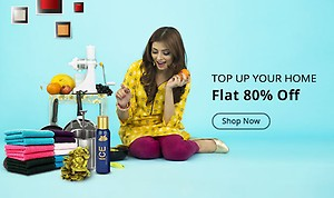 Flat 80% Off On Home & Kitchen Products