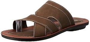 BATA Men's Wave Toering Brown Hawaii Thong Sandals - 8 UK/India (42 EU)(8714139)
