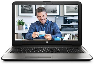 HP 15-AY503TX 2016 15.6-inch Laptop (6th Gen Core i5-6200U/8GB/1TB/DOS/2GB Graphics), Turbo Silver price in India.