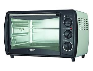 Prestige POTG 19 PCR 1380-Watt Oven Toaster Grill (Black) price in India.