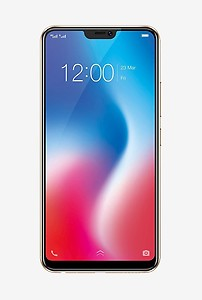 Vivo V9 (Pearl Black-Gold) Without Offer price in India.