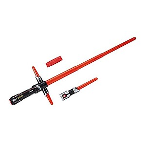 Star Wars The Last Jedi Bladebuilders Kylo Ren Electronic Lightsaber, Multi Color