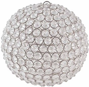 Being Nawab Beaded Ball Crystal 1 - Cup Tealight Holder