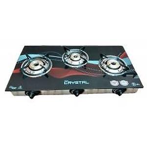 Surya Crystal 3 Burner Automatic Gas Stove