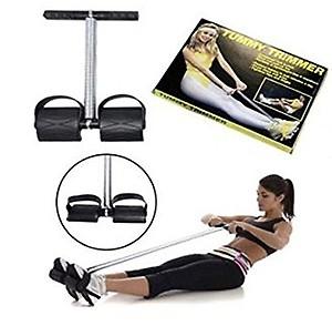 Sauna Slim Belt-Waist Trimmer-Abs Exerciser-Body Toner-Fat Buster- Multipurpose Fitness Equipment for Men and Women