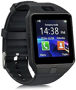 Celestech WS04 with SIM, 32 GB Memory Card Slot, Bluetooth and Fitness Tracker Gunmetal Grey Smartwatch