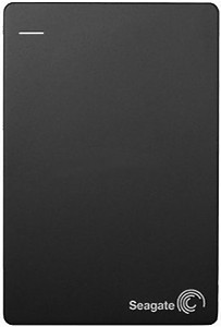 Seagate 1TB Backup Plus Slim USB 3.0 Portable 2.5 Inch External Hard Drive for PC and Mac with 2 Months Free Adobe Creative Cloud Photography Plan - Black price in India.