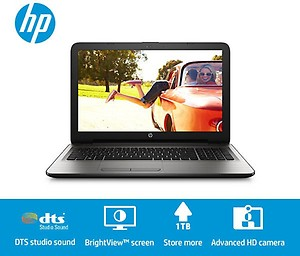 HP APU Quad Core A8 6th Gen - (4 GB/1 TB HDD/Windows 10 Home/2 GB Graphics) 15-ba001AX Laptop price in India.