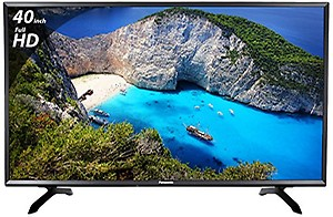 Panasonic 100 cm (40 inches) Viera TH-40E400D Full HD LED TV (Black) price in India.