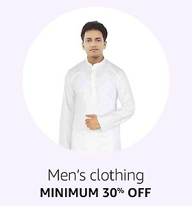 35% Off or more on Mens Clothing for Holi