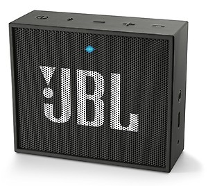 JBL Go Portable Wireless Bluetooth Speaker with Mic (Black) price in India.