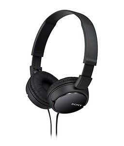 Sony MDR-ZX110A On-Ear Street Style Headphones (White) Without Mic price in India.