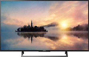 Sony BRAVIA X7500E Series 123.2cm (49 inch) Ultra HD (4K) LED Smart TV (KD-49X7500E) price in India.