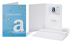 Amazon.in Gift Card with Greeting Card - Rs.5000 ( Congratulations )