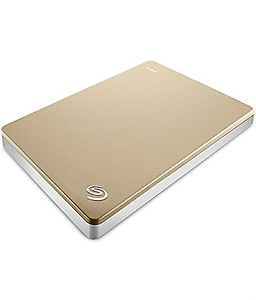 Seagate 2TB Backup Plus Slim USB 3.0 Portable 2.5 inch External Hard Drive for PC and Mac with 2 Months Free Adobe Creative Cloud Photography Plan - Gold price in India.