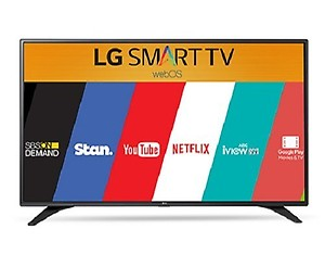LG 123 cm (49 inches) 49LH600T Full HD LED Smart IPS TV (Black) price in India.