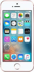 Apple iPhone SE (Rose Gold, 32 GB) price in India.