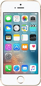 Apple iPhone SE (Gold, 16 GB) price in India.