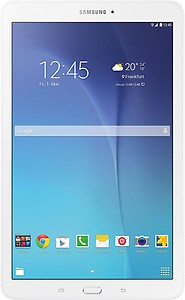 Samsung Galaxy E SM-T561NZKAINS Tablet (9.6 inch, 8GB, Wi-Fi+3G+Voice Calling), Metallic Black price in India.