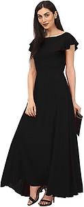 Lady Stark Women's Maxi Black Dress