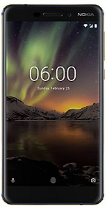 Nokia 6.1 (4GB + 64GB, Blue-Gold)