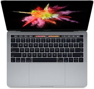 Apple Macbook Pro Core i7 - (16 GB/256 GB SSD/Mac OS Sierra/2 GB Graphics) MLH32HN/A (15 inch, Space Grey, 1.83 kg) price in India.