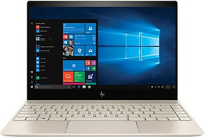 HP Envy Core i7 8th Gen - (8 GB/256 GB SSD/Windows 10 Home) 13-ad128TU Thin and Light Laptop (13.3 inch, Gold, 1.32 kg) price in India.