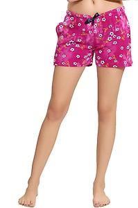 AV2 Printed Women Pink Regular Shorts