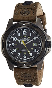 Timex Expedition Analog Black Dial Unisex Watch