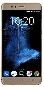 InFocus Turbo 5 (Glittering Gold, 32GB, 5000mAH Battery) price in India.