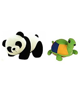 Deals India Panda Soft Toy and Tortoise