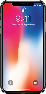 Apple iPhone X 64 GB (Space Grey) price in India.