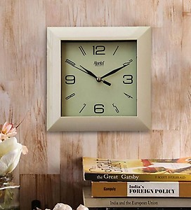 Ajanta White Wall Clock 6.6 Inches