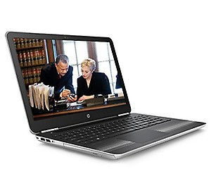 HP Pavilion 15-AU003TX 15.6-inch HD Premium Laptop (Intel Core i5-6200U/8GB RAM/1TB HDD/NVIDIA 2GB Graphics/ Win 10 Home/2GB Graphics ) Natural Silver price in India.