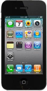 Apple IPhone 4 (Black, 8 GB) price in India.