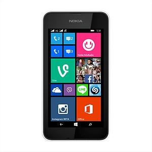 Nokia Lumia 530 DS (Bright Orange, 4 GB) price in India.