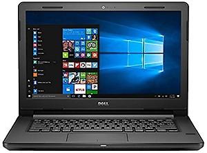 Dell Vostro 3468 14-inch Laptop (7th Gen Corei3-7100U/4GB/1TB/Windows 10/Integrated Graphics), Black price in India.