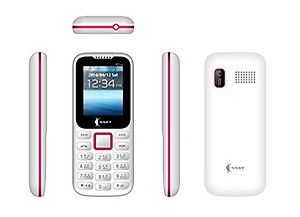 SSKY K2ice (Dual Sim, 1.8 inch Display, Multi Language Support, 1050 Mah Battery,White price in India.