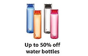 Upto 50% Off On Water Bottles