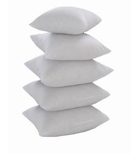 Polyester 16 x 16 inch Cushion Insert - Set of 5 by Zikrak Exim