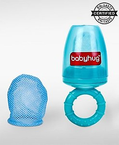 Babyhug Food Feeder 2 In 1 With Mesh And Silicone Sac