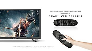 Daiwa D32C4S 80 cm ( 32 ) Smart HD Ready (HDR) LED Television with Web Flirt remote (Black) price in India.