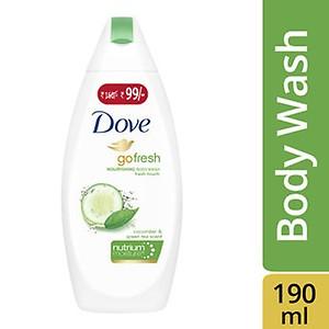 Dove Go Fresh Nourishing Body Wash Now At Rs. 99/-(190ml)